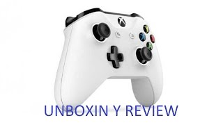 Unboxing Controller Xbox One S