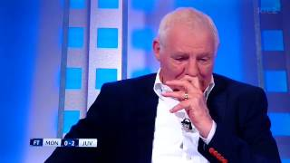 Eamon Dunphy I take back the snide remarks about Higuain & let him enjoy his pasta