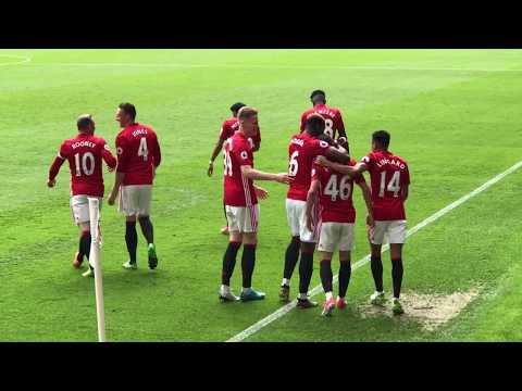 Josh Harrop Debut Goal   Manchester United vs Crystal Palace   Premier League   Old Trafford   21.05.2017 - Filmed from my seat....check out the FULL match day vlog - https://youtu.be/sFoKrlEMXXI.