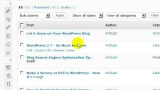 WORD PRESS TUTORIALS