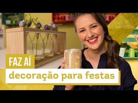 Decoração para festas - DIY com Karla Amadori - CASA DE VERDADE