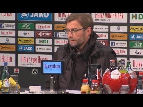 Pressekonferenz: Jürgen Klopp nach dem Auswärtssieg bei Hannover 96 (3:2) | BVB total!