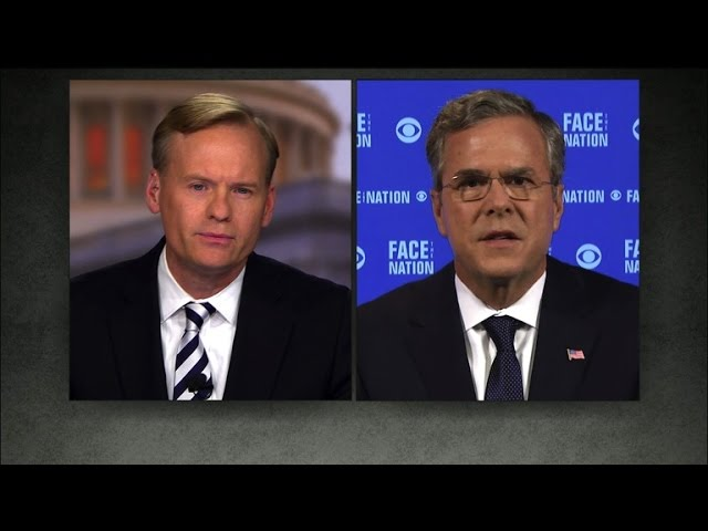 "Jeb Bush: Trump is ""misinformed at best"" on foreign policy"