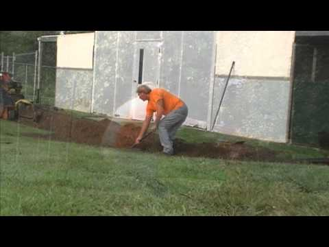 Do It Yourself - YARD DRAIN
