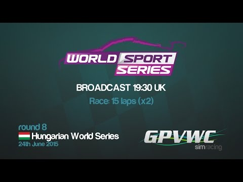 GPVWC 2015 - World Sport Series R08 - Hungarian World Series
