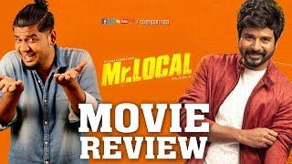 Mr.Local Review |#SivaKarthikeyan | #Nayanthara | #HiphopTamizha | #OpenPannaa