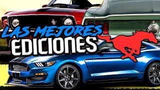 Las Mejores Ediciones Especiales del Mustang