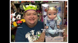 Olaf's Frozen Adventure Elsa Toddler Doll Review✨- Magical Monday!