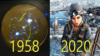 Evolution of Video Game Graphics 1958-2020