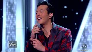 "Laine Hardy Performs New Song ""Flame"" 