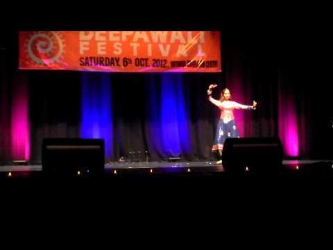 Solo Kathak Performance- Natraj at Rotorua Deepawali, Rotorua