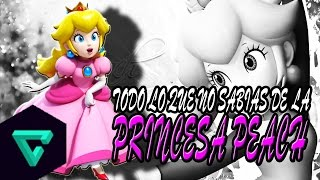 Todo Lo Que No Sabias De La Princesa Peach | Super Mario Bros | Kenny El King