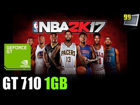 NBA 2K17 on GeForce GT 710 - Can It Run?