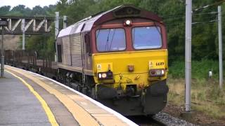 A Day at Carstairs Carluke & Coatbridge with 2 class 68 runs 4-09-14