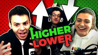 Higher Or Lower With My Brother and Sister!