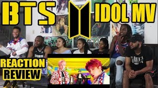 BTS (?????) - IDOL OFFICIAL MV REACTION/REVIEW