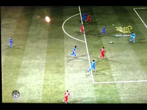 Fifa 2013 thiago silva fail