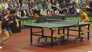 Dimitrij OVCHAROV vs TAN Ruiwu FINAL 3of3 Games Russian Premier League Playoff Table Tennis