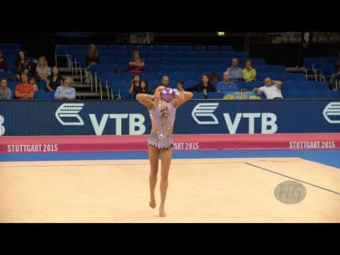 Ana Luiza FILIORIANU (ROU) 2015 Rhythmic Worlds Stuttgart - Qualifications Ball