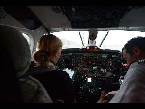 Cyclone Ita starts to hit NZ    Bumpy flight out of Wellington