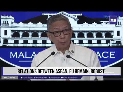 Relations between ASEAN, EU remain 'robust'