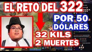 SMASH HACIENDO EL RETO DEL 322 POR POR 50 DÓLARES | DOTA 2 COSAS
