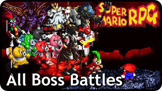 Super Mario RPG: The Legend of the Seven Stars - All Boss Battles