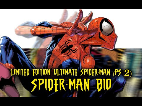 Ultimate Spider-Man (Limited Edition) SPIDER-MAN characters bio
