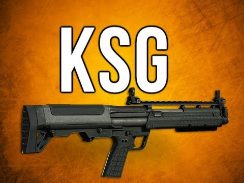 Black Ops 2 In Depth - KSG Slug Shotgun