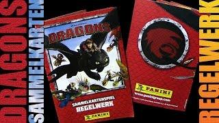 Dragons - Panini ® Trading Card Game - Regelwerk / Spielregeln / 2015 Re-Upload