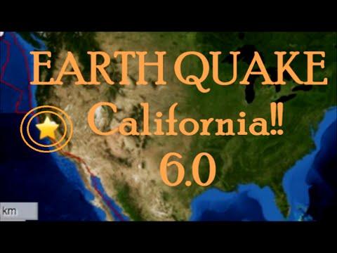 Earthquake 6.0 Magnitude Hits Northern California