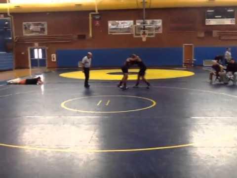 Dominick Mims vs. Masai White (East Chapel Hill High School)