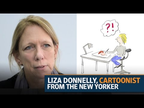 A visit to Lounge | Liza Donnelly, cartoonist from The New Yorker