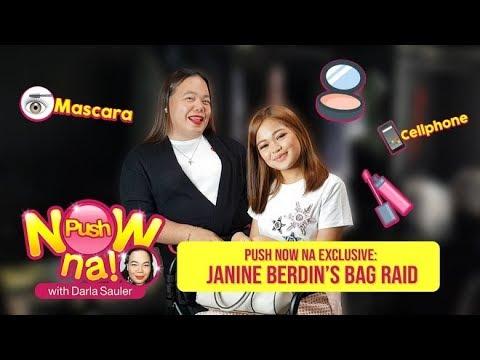 Push Now Na Exclusive: Janine Berdin Bag Raid