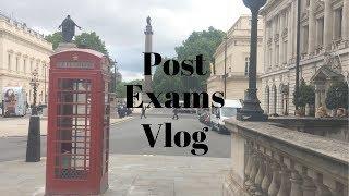 Post Exams Vlog -  MAGIC TRICKS, GYM, AND FOOD!!!