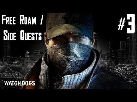 Watch Dogs - Free Roam / Side Quests Walkthrough - Part 3 - Boat Mayhem / Gang Hideouts