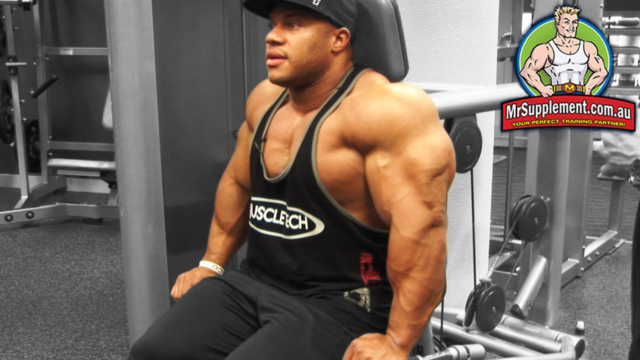 Tricep Exercise Machines Phil Heath 39 s Machine Tricep