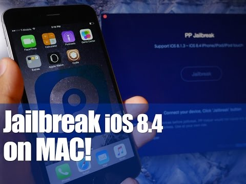 How to jailbreak iOS 8.4 on Mac OS X (PP Jailbreak)