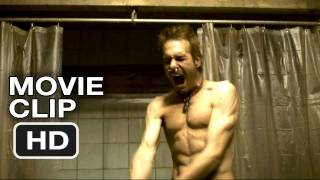 The Divide - The Divide #2 Clip - Chopping the Corpse (2012) HD Movie