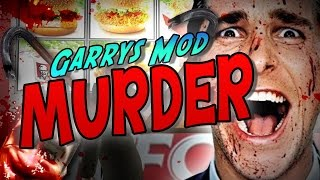 Garry's Mod Murder : EAT MY CHICKEN! (Funny Moments!)