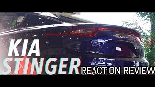 ALL NEW 2018 KIA STINGER - Reaction & Review | OMG IT'S AMAZING