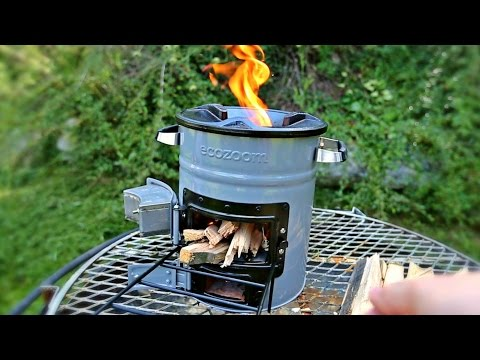 Rocket Stove Test - Ecozoom