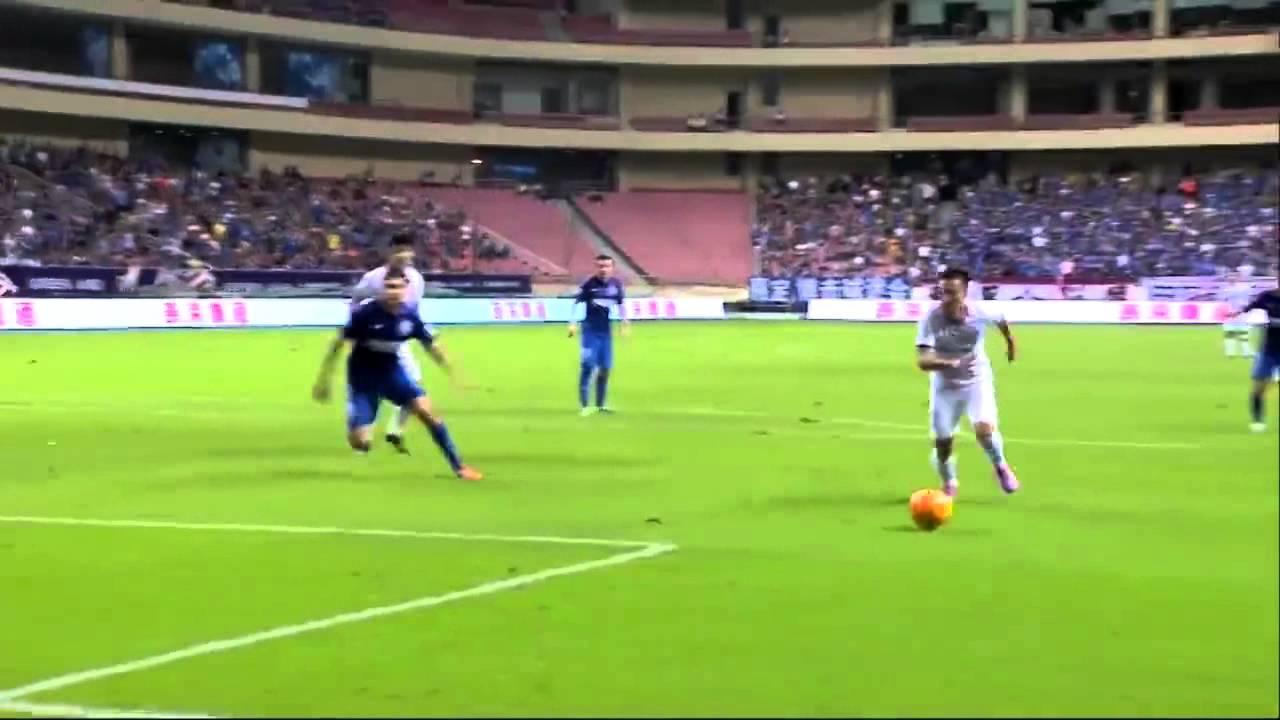 Shanghai Shenhua 0-2 Jiangsu Sainty