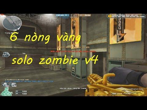 [ Bình Luận CF ] GatlingGun-Gold - Tiền Zombie v4