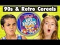 Kids Try 90s & Retro Cereal They