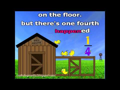 Fractions 2nd   3rd Grade - Down On The Farm video