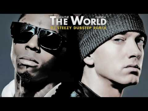 Lil Wayne Eminem - No Love The World  (dubstep Remix) video