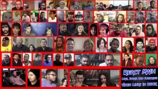 Suicide Squad - Official Trailer 1 [HD] Reaction Mega Mashup Version