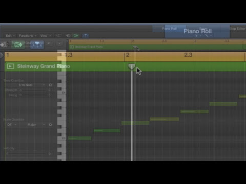 Logic Pro X Tutorial 2: Quantizing MIDI