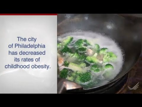 Philadelphia Decreases Childhood Obesity: Investing in Healthier Kids